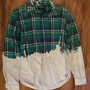 Bleached American Eagle flannel